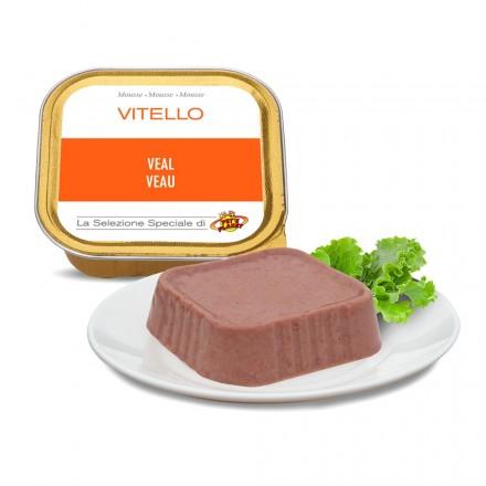 Mousse VEAU pour chats, 100 g