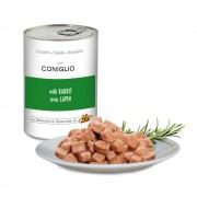 Pezzetti con CONIGLIO per gatti, 405 g