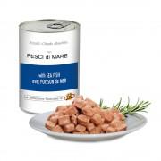 Pezzetti con PESCI di MARE per gatti, 405 g